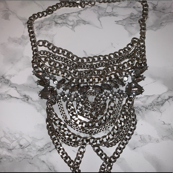 BaubleBar Jewelry - BAUBLEBAR STATEMENT NECKLACE WORN ONCE